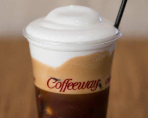 freddo espresso με φυτική κρέμα