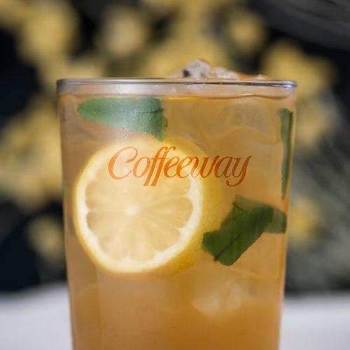 Πράσινο αρωματικό τσάι Άγριο λεμόνι (decaf)