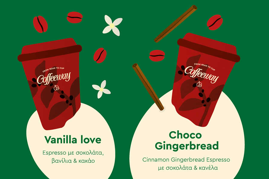 Christmas espresso & Chocolate blends