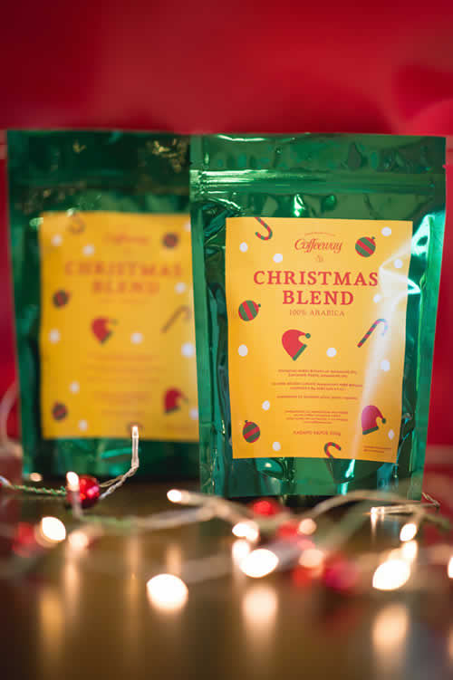 coffeeway christmas blend