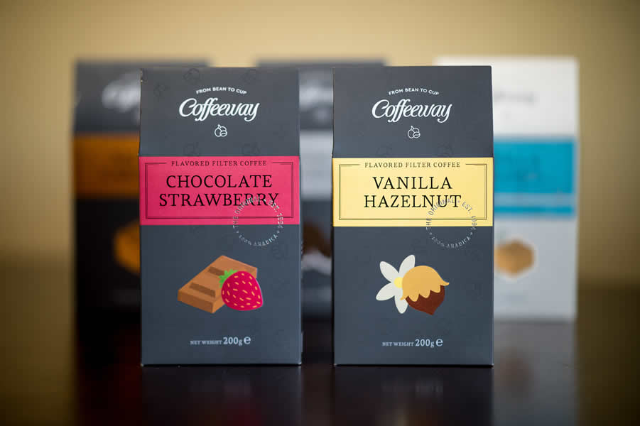 Coffeeway Flavored Filter Collection