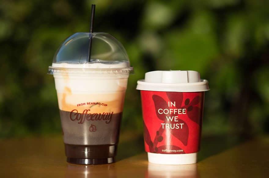 Οι ηλιόλουστες μέρες συνοδεύονται πάντα από έναν Coffeeway Cappuccino