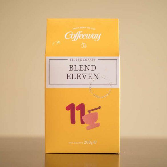 Blend Eleven - Δυνατό χαρμάνι από εξαιρετικές ποικιλίες καφέ, με έντονη γεύση, ο Blend Eleven συνοδεύει ευχάριστα κάθε μέρα της εβδομάδας και κάθε ώρα της ημέρας