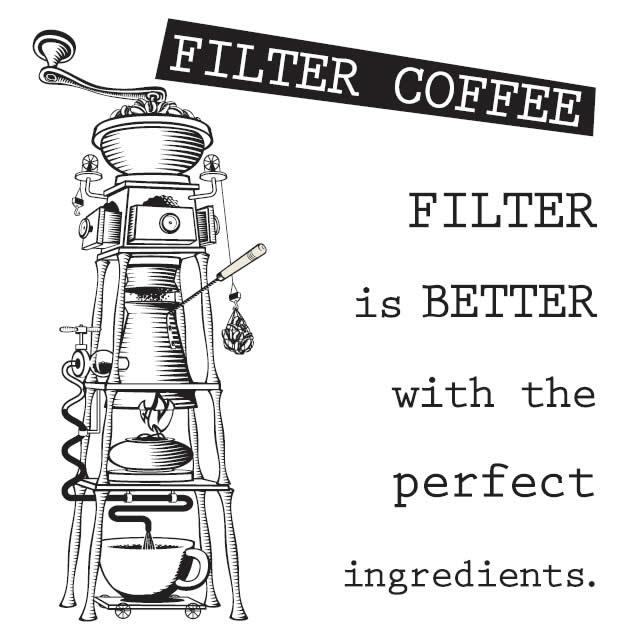Καφές φίλτρου, επιλεγμένες, από τα Coffeeway για εσάς, εξαιρετικές ποικιλίες γεωγραφικής προέλευσης από την Αιθιοπία, την Κένυα, την Costa Rica, το Μεξικό, την Κολομβία κ.ά και ξεχωριστά χαρμάνια, το καθένα με τη δική του προσωπικότητα, φτάνουν στο φλιτζάνι σας φρεσκοκαβουρδισμένα και φρεσκοαλεσμένα