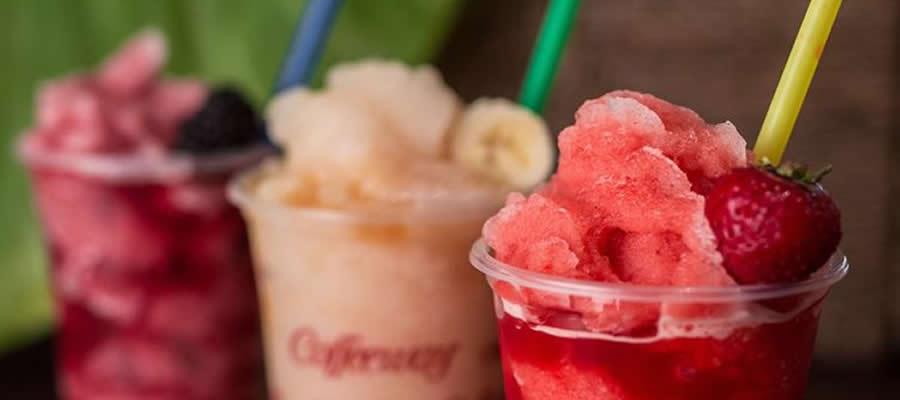 Τι καλύτερο για μια ζεστή μέρα από τα Fruit coolers?