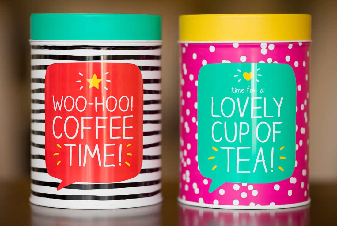 Coffeway tins!