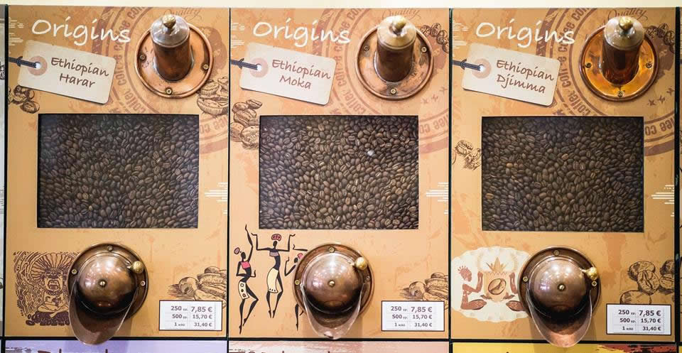 Coffeeway single origins | Ethiopian Harar, Moka & Djimma