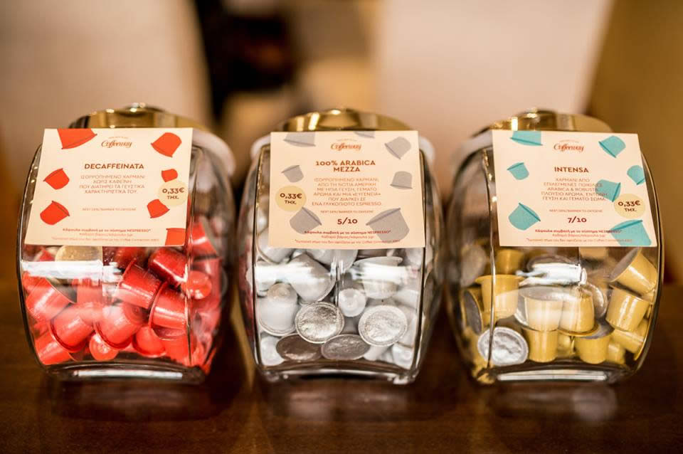 Coffeeway Espresso Capsules | Pick & Mix