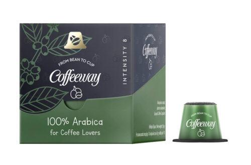 100% Arabica with capsule