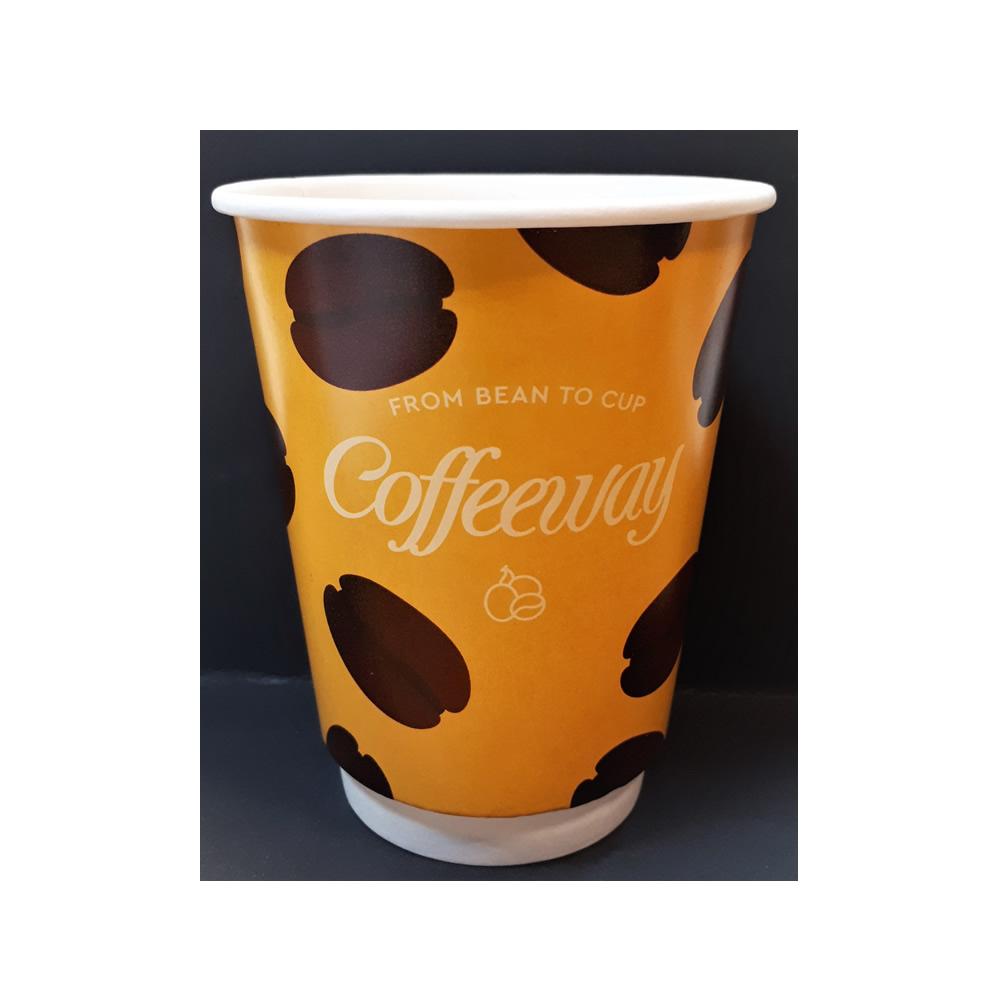 Διπλότοιχο χάρτινο ποτήρι Coffeeway 12oz