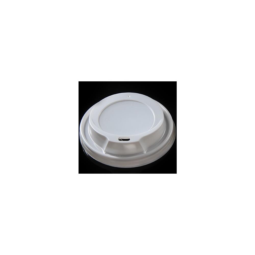 Πλαστικό καπάκι-πιπίλα για χάρτινο ποτήρι 8oz