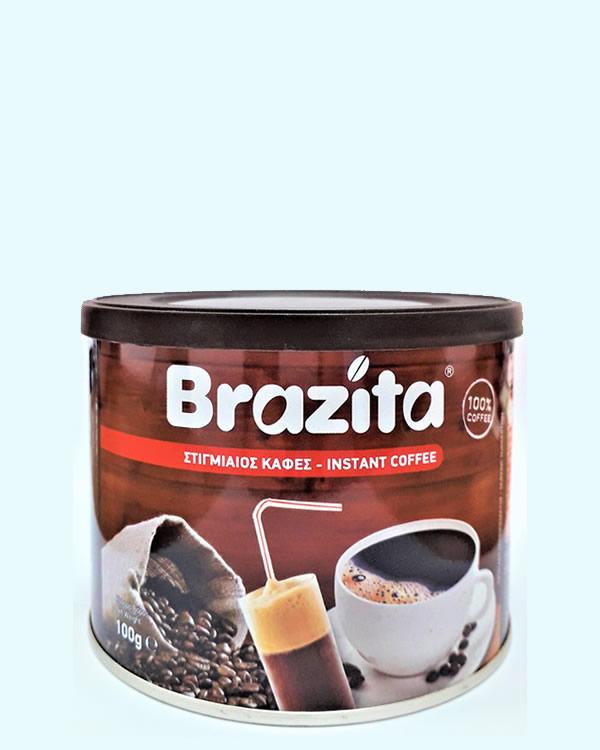 Στιγμιαίος καφές Brazita 100gr