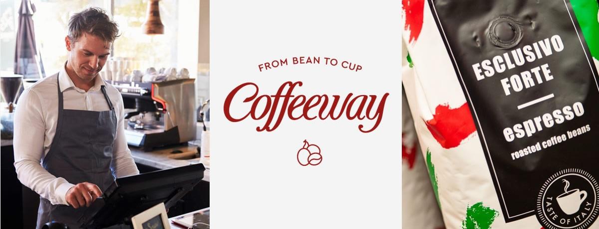 Ως ειδικοί στην επεξεργασία του καφέ, κατανοούμε πλήρως τις ιδιαίτερες ανάγκες του επαγγελματία HO.RE.CA. και αξιοποιούμε την πολυετή μας εξειδίκευση για να προσφέρουμε στην επιχείρησή σας, εξαιρετικής ποιότητας προϊόντα καφέ, με την εγγύηση του ονόματος Coffeeway